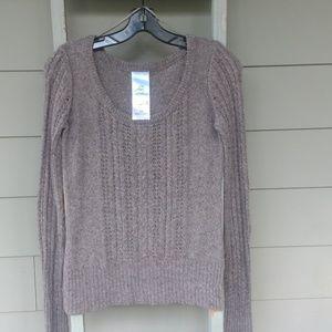 Anthropologie Aphorism Grey Sweater